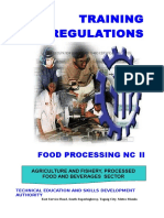 TR - Food Processing NC II.doc