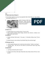 Evaluasi 1 Biologi Sel