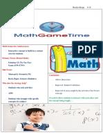 math games for adolescences handout
