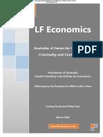 LF Economics Submission to the White Collar Crime Inquiry 63