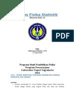 Aplikasi Termodinamika Statistik