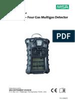 MSA Altair 4 Meter Manual.pdf