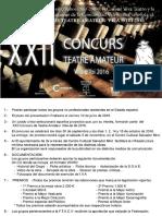 XXII Concurs de Teatre Amateur Vila d'Ibi 2016