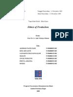 Tugas Etika Produksi