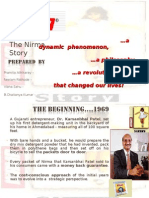 Nirma Case Study