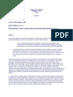 Jurisprudence on Declaration of Nullity