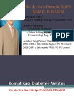 Simpo Awam - Komplikasi Diabetes Melitus