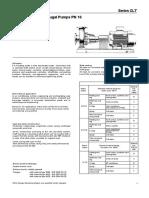 Brosur pompa KSB type CLT