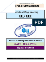 Signal Electrical GATE IES PSU Study Materials