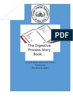 Digestive Process Storybook - 2015 Project