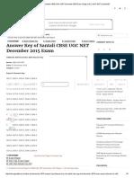 Answer Key of Santali CBSE UGC NET December 2015 Exam _ Page 2 of 2 _ UGC NET _ QuickNET 3