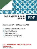 Alin 03 Vektor Di r2 Dan r3 (Pertemuan 7-9.5)
