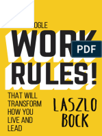 Work Rules! - Lazslo Bock