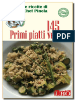 145 Primi Piatti Vegan (Le Rice - Chef Pinela