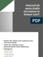 Pengantar Manajemen Keuangan Di Rumah Sakit