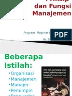 Prinsip dan fungsi manajemen, ndari.pptx