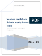 VCPE Industry in India