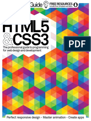 HTML5CSS3G3niusGuidevol3 pdf | Google Chrome | Virtual Reality