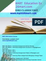 MGT 426 MART Education Expert-mgt426mart.com