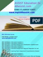 MGT 448 ASSIST Education Expert-mgt448assist.com