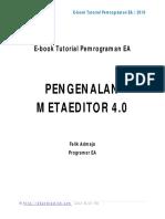 Pengenalan MetaEditor