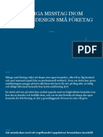 Vanliga Misstag Inom Webbdesign Små Företag Gör