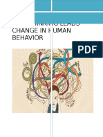 Over Thinking Leads a Change in Human Behavior Report
