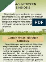 Fiksasi Nitrogen Simbiosis