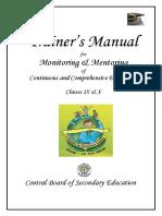 Menmon Trainer's Manual[1]
