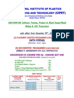 Cadcamcae Course Cipet Chennai_28!10!2015