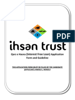 Ihsan Trust Qarz e Hasna Application Form 2014(2)