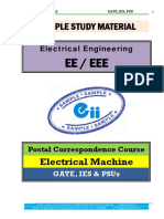 Electrical Machine Electrical GATE IES PSU Material