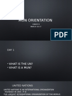 mun orientation