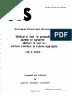 JIS A 1803 1991