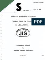 JIS A 5005 1987