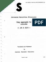 JIS A 5011 1992