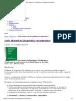 PDM Manual de Diagnóstico Psicodinámico