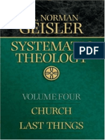 Systematic Theology, Volume 4 - Church, Last Things by Norman L. Geisler.epub