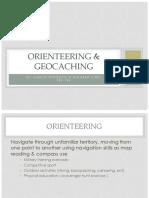 orienteering   geocaching pwrpnt