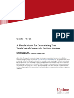 Total Cost of Ownership for Data Centers