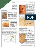 Tema IV. El Arte Rupestre Postpaleolítio en La Peninsula Ibérica. Apuntes Mgdp Prehistoria II