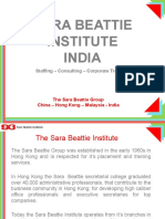 Sara Beattie Institute_India