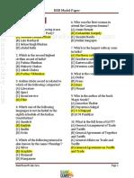 Feb Rrb Model Paper