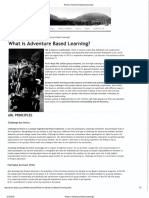 adventure based learning and principles