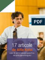 17 Articole de Alfie Kohn Care Iti Schimba Perspectiva Asupra Parentingului