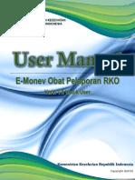 [000006] UM-E-Monev Obat Pelaporan RKO Untuk User Versi 1.0