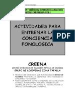 Actividades Conciencia Fonológica Creena 3