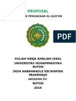 Proposal Project Kka Kabawakole