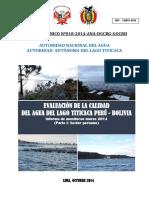 Monitoreo Binacional Lago Titicaca Compilado