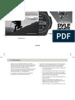 Manual Reloj Pyle